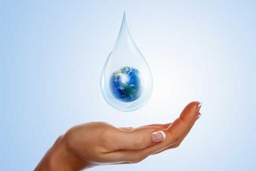 Mundo en gota de agua